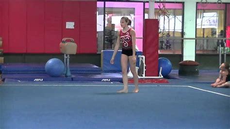 new level 8 9 gymnastics floor routine valerie craft youtube