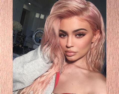 Kylie Jenner Dyes Her Blonde Hair Autumn's Hottest Shade