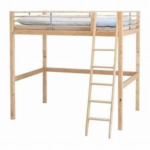 Ikea Lit 90x190 : hochbett ikea fjelldal 140x200 birke massiv in ~ Teatrodelosmanantiales.com Idées de Décoration
