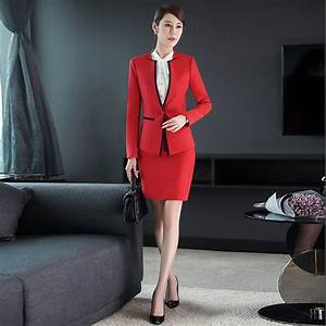 Asian Design Office Business Pant Suits Sales Women Uniform