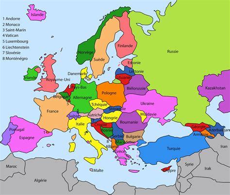 Carte Européenne Avec Capitales by Flebosco 1 Eso 9 Mai Journ 233 E De L Europe
