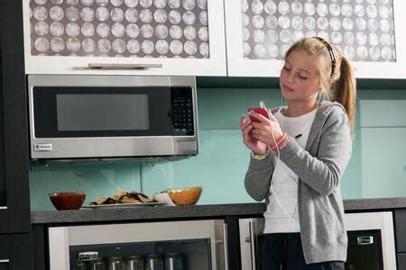 monogram zemsfss ge monogram series  cu ft capacity countertop microwave appliances
