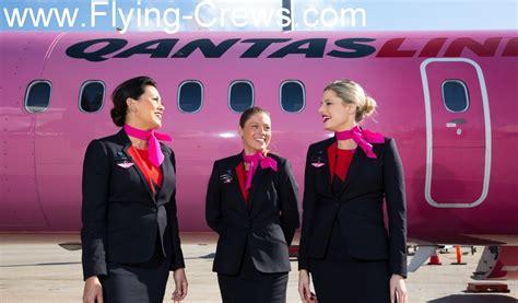 cabin crew qantas airlines sydney