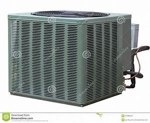 Central Air Conditioner Stock Photo  Image Of Radiator