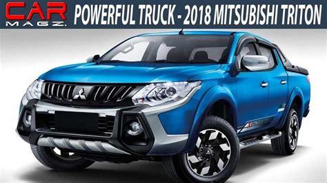 2018 Mitsubishi Triton Redesign And Release Date Youtube