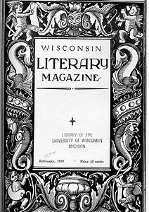The Literature Collection  Wisconsin Literary Magazine