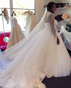 serena williams shares bts photos from her wedding dress With serena williams wedding dress