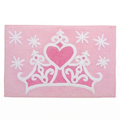 disney princess crown bath rug  jumping beans disney love kids bathroom sets rugs