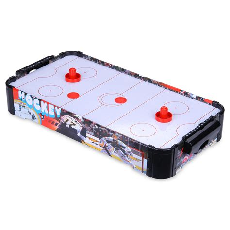 mini table top air hockey game table family activity