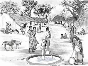 Simple Indian Village Scene 500375 | Visit http://www ...