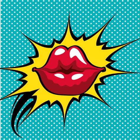 Kiss Pop Art - Custom Wallpaper