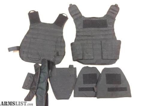 Black Full Body Armor Plate Carrier