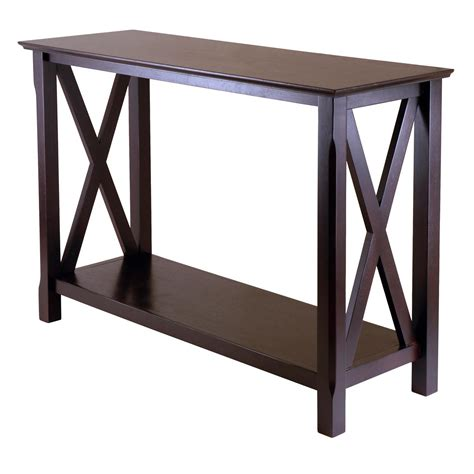 Amazoncom Winsome Wood Xola Console Table Kitchen & Dining