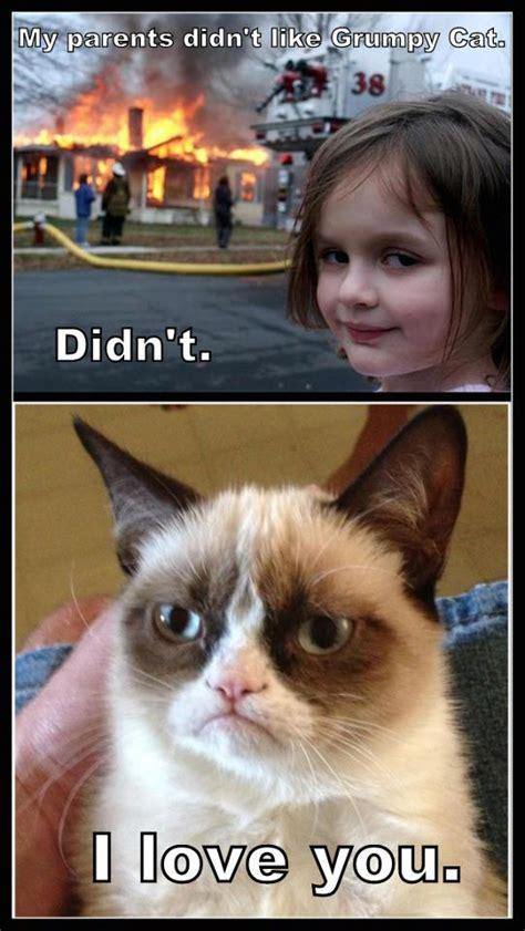 Grumpy Cat I Love Her