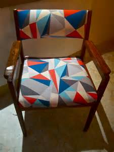 Geometric Fabric Chair by Hero Chairs The Lost And Found Office