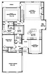 4 bedroom one story house plans 654287 one and a half story 4 bedroom 3 bath traditional style house plan house