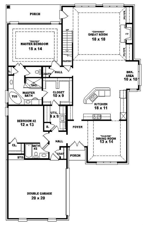 5 bedroom 1 house plans 1 house plans with 4 bedrooms on one side pictures