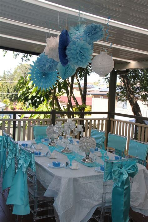 tiffany blue table decorations vintage high tea tiffany blue table setting decorations