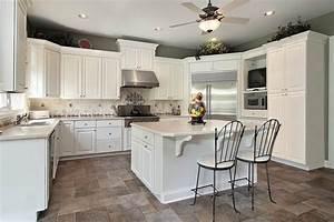 15 awesome white kitchen design ideas furniture arcade With kitchen designs with white cabinets
