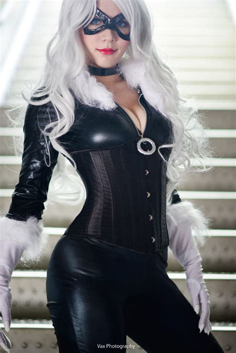 felicia hardy black cat  vaxzone  deviantart