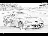 Coloring Race Cars Racecars Filminspector Humble Landscape sketch template