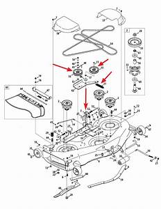 34 Cub Cadet Lt1050 Drive Belt Diagram
