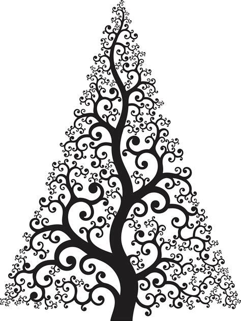 PrintWallArt   Contemporary Christmas Tree