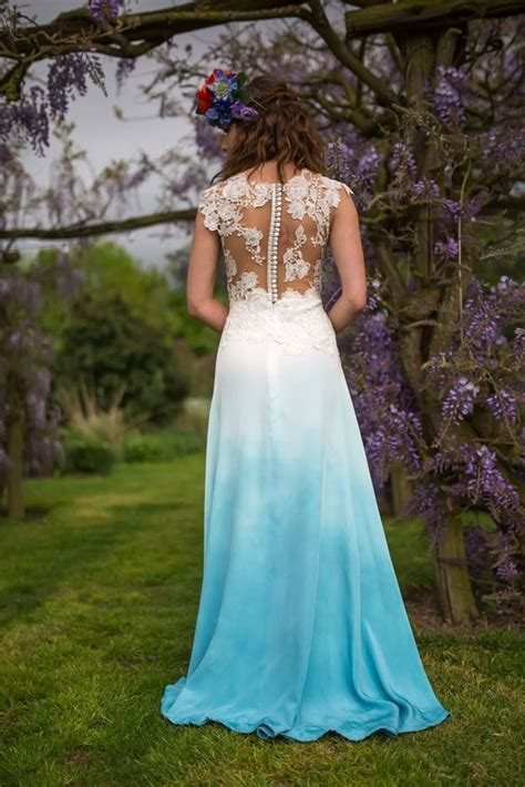 Dip Dyed Wedding Dresses Are Here And They Are Absolutely
