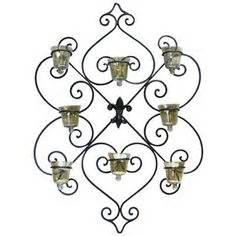 hobby lobby wall sconce products i love pinterest With best brand of paint for kitchen cabinets with 3 inch votive candle holders