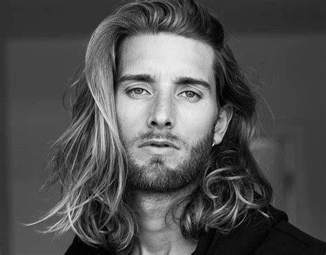 man with long hair style bentalasalon com