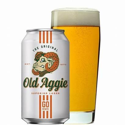 Aggie Beer Superior Belgium Glass Lager