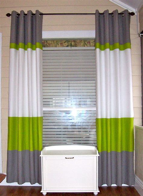 best 25 color block curtains ideas on white