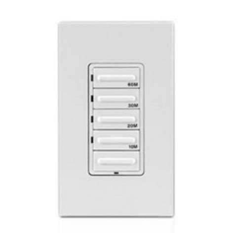 panasonic bathroom fan switch timers 60 minute countdown timer four preset buttons