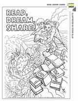 Coloring Ellis Steve Week Storybook Children Papercutz sketch template