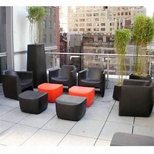Pouf Pour Salon : pack translation 1 canap 2 fauteuils 1 pouf jardinchic ~ Premium-room.com Idées de Décoration