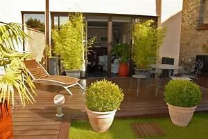 Decoration Terrasse Exterieur : photos de terrasse balcon design ~ Teatrodelosmanantiales.com Idées de Décoration