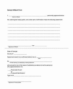 Free 6  Sample Sworn Affidavit Forms In Pdf