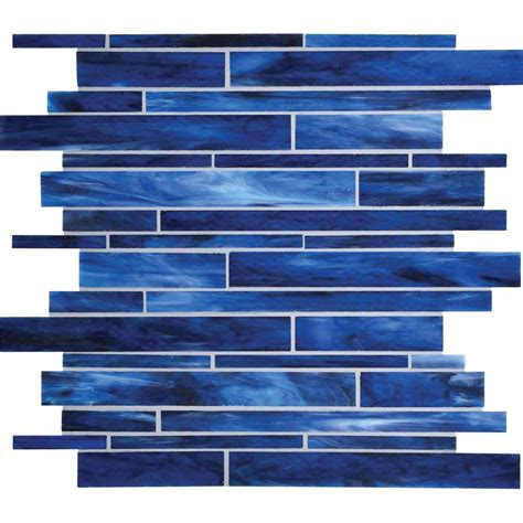 american olean glass tile backsplash american olean 12 in x 12 in loren place wave glass