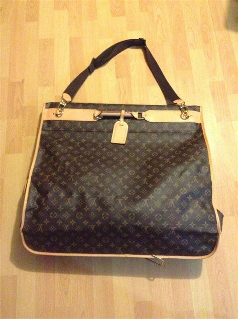 louis vuitton  hanger monogram garment bag ebay