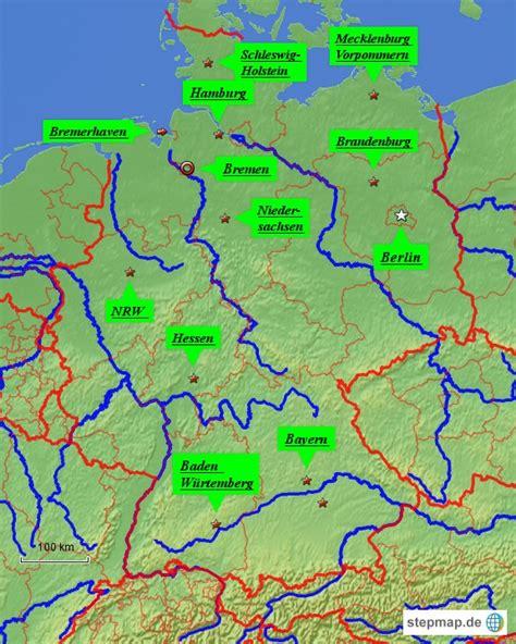 landkarte europa deutschland gross karte mit staedten und