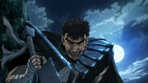 Anime Swordsman Wallpaper - black swordsman berserk guts wallpaper no 423742