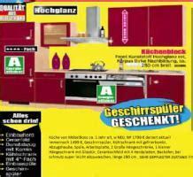 Komplette Küche Von Möbelboss W Neu Rot, Np 1799 € !!! In