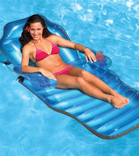 poolmaster adjustable chaise floating lounge at swimoutlet
