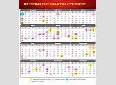 Tarikh Cuti Umum Dan Cuti Sekolah Kalender 2017