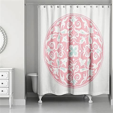 moroccan shower curtain moroccan circles shower curtain bed bath beyond