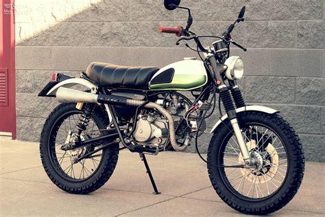 custom honda honda sl70 custom scrambler