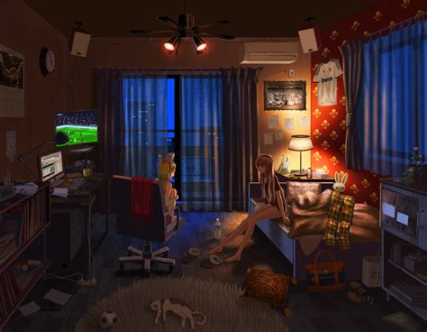 Anime Room Wallpaper - vocaloid wallpaper and background image 1800x1400 id