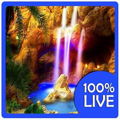 Waterfalls Waterfall Moving Sound Animated Sounds Wallpapers