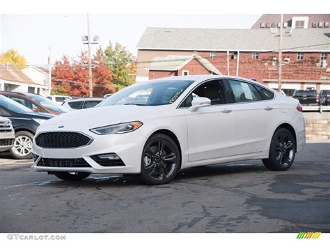 New Ford Fusion Sport by 2017 Ford Fusion Sport White Best New Cars For 2018