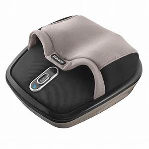 homedics shiatsu air max foot massager with heat With bed with massager